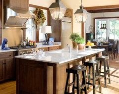 Coastal Living - Allison Ramsey Architects Holiday House beach-style-kitchen