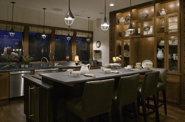 Coastal Living Residence traditional-kitchen