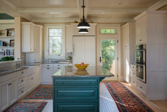 Coastal Maine Home traditional-kitchen