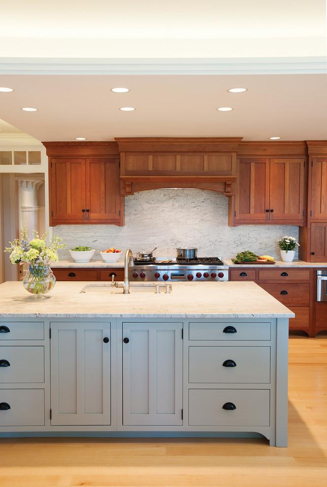 Coastal Maine Kitchen - Craftsman - Kitchen - Portland ...