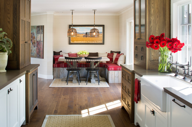 Farmhouse Kitchen By Anne Sneed Architectural Interiors