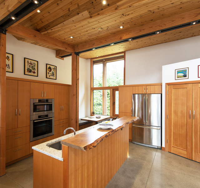 Coastal Residence Modern Kitchen Seattle By Robert Edson Swain Architecture And Design