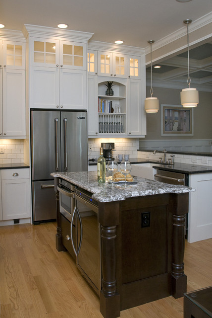 Spectacular Traditional Kitchen by Southern Studio Interior Design