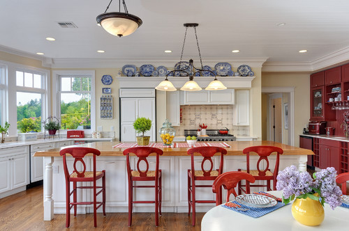 Coastal Stunner - Kitchen Island