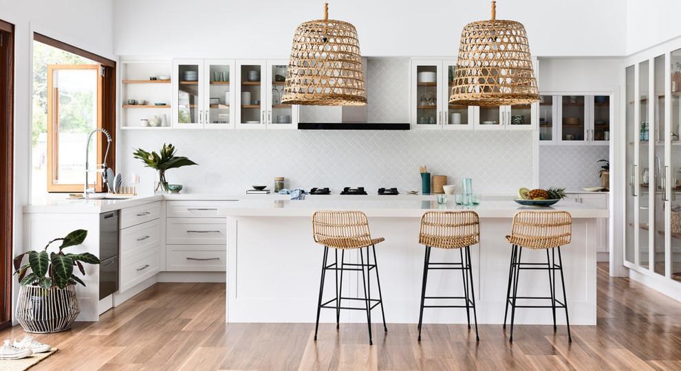 Coastal Kitchen Cabinets
