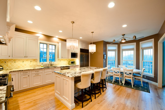 Coastal Traditional Kitchen traditional-kitchen