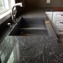 Coastal | Transitional Kitchen - White and Grey