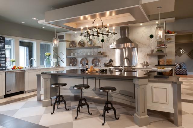 Coastal Vibe Home transitional-kitchen