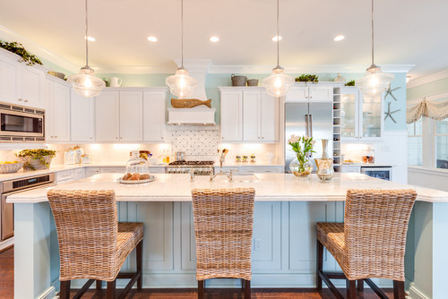 Beach Style Kitchens