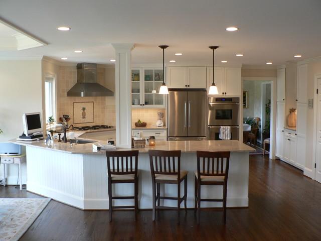 Coastal White Kitchen Kitchen Dc Metro By Reico Kitchen Bath