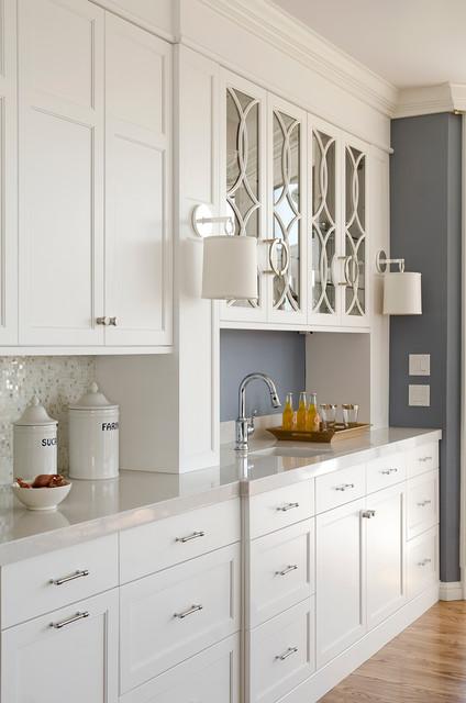 Cobalt Blue and White Kitchen Reno - Traditional - Kitchen ...