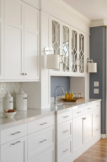 contemporary kitchen by portland kitchen bath designers kitchen cove cabinetry design - White Inset Kitchen Cabinets