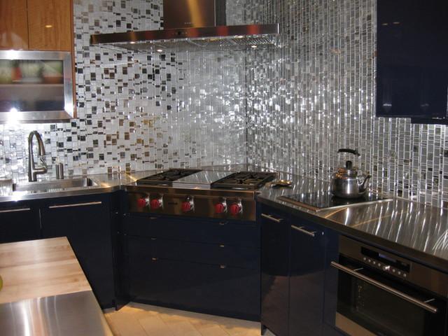 Cobalt Blue Kitchen Design