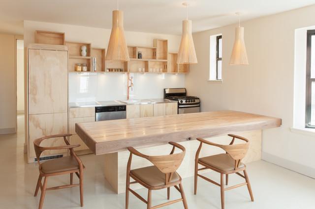 Cobble Hill Apartment Renovation contemporary-kitchen