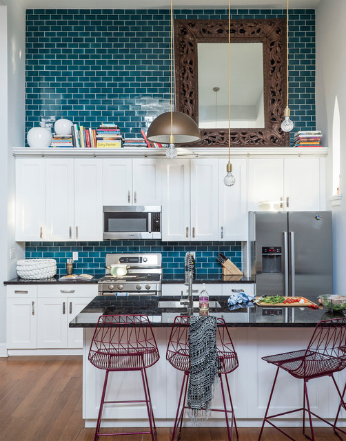 Cobble Hill Chez Church eclectic-kitchen