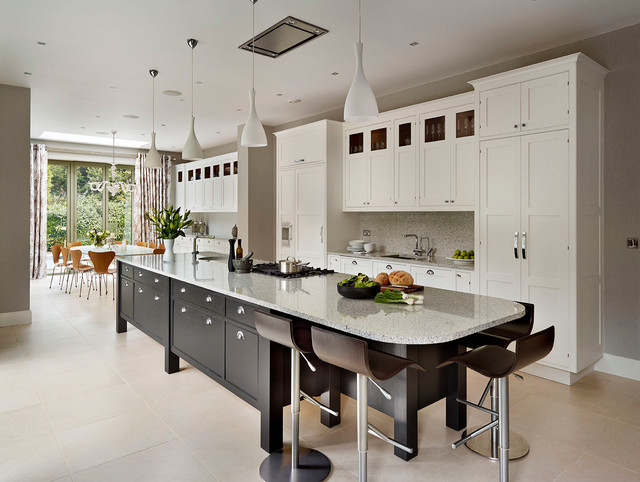 Supersized Storage In A Striking Surrey Kitchen