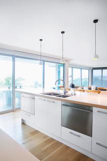 Cockle Bay Kitchen Scandinavian Kitchen Auckland By Kitchen Architect