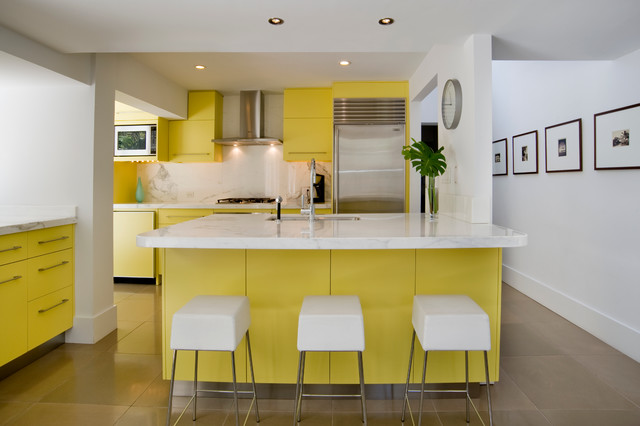 Coconut Grove 1970s Residence midcentury-kitchen
