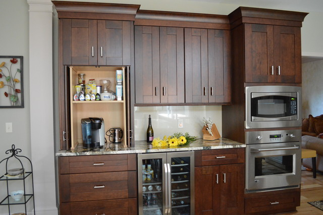 Coffee Bar Transitional Kitchen Cleveland By