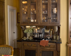 Coffee hutch traditional kitchen