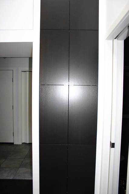 Coffee maker cabinet. contemporary-kitchen