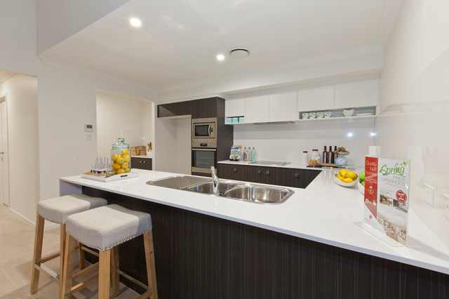 designer kitchens coffs harbour coffs harbour display home perry homes modern 219