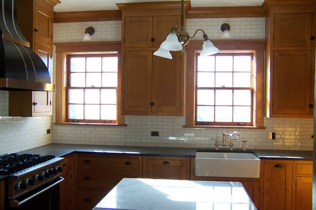 Colby Mansion Craftsman Kitchen Other Metro By