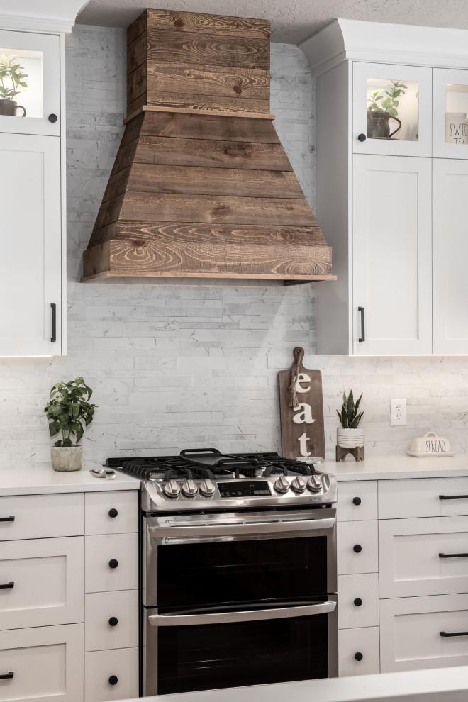 Cold Canyon Remodel - Farmhouse - Kitchen - Salt Lake City ...
