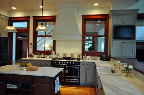 Traditional Kitchen Design By Charleston Architect Frederick Architects
