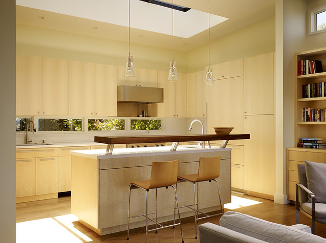 Cole Valley Hillside modern kitchen