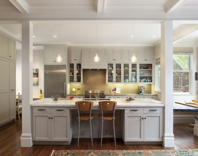 Cole Valley Residence   Center Of Attention Traditional Kitchen Nice Design