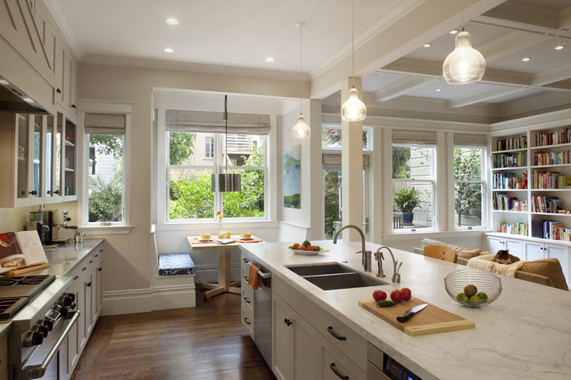 Cole Valley Residence - Multi-purpose Room traditional-kitchen