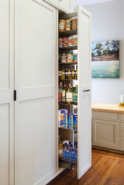 Cole Valley Residence - Vertical Pantry - Traditional ...
