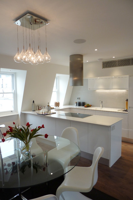 Coleville Terrace - Contemporary - Kitchen - London - by Chartered Practice Architects