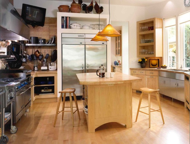 Collector's Contemporary Eclectic eclectic-kitchen