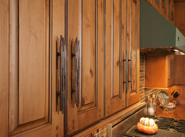 Collins hardware - Rustic - Kitchen - other metro - by Fedewa Custom ...