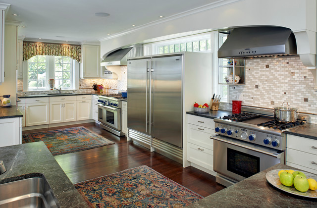 Colonial Addition Kosher Kitchen Traditional Kitchen Boston By Lda Architecture Interiors
