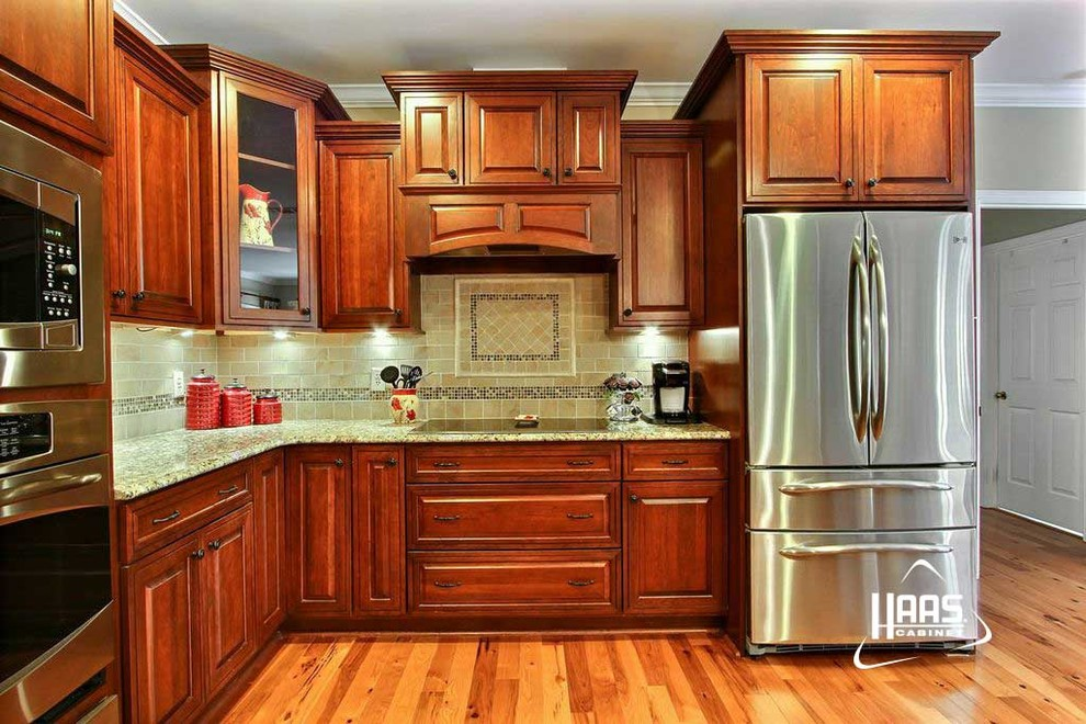 Colonial Cherry | Haas Cabinet - Craftsman - Kitchen ...