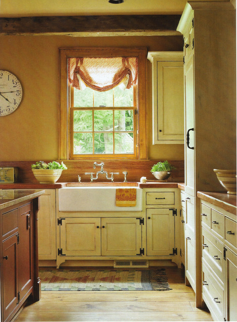 Colonial Estate Farmhouse Kitchen Seattle By