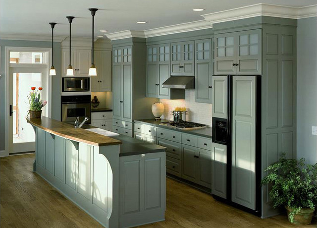 Colonial Kitchen - Traditional - Kitchen - minneapolis ...