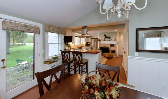 Colonial Kitchen contemporary-kitchen