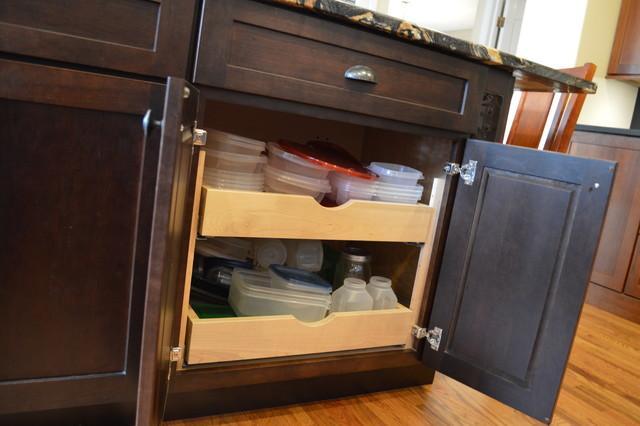 Colonial Park Drive - Kitchen Remodel - Craftsman - Kitchen - Denver - by Castle Kitchens and ...