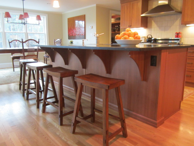 Colonial Renovation traditional-kitchen