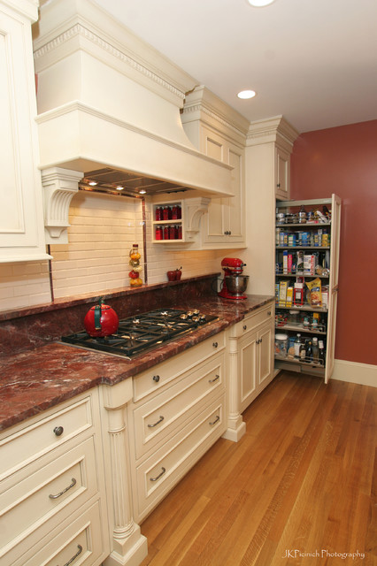 Color & Personality traditional kitchen