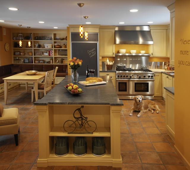 Mediterranean Tiles Kitchen: Mediterranean