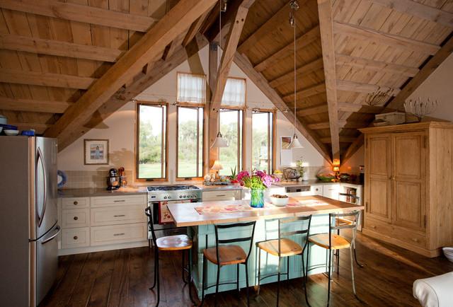 Colorado Barn Home traditional-kitchen