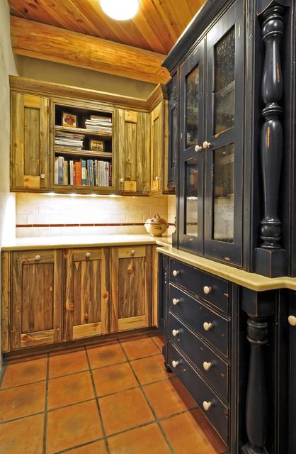 Colorado Beetle Kill Pine Kitchen Rustic Kitchen