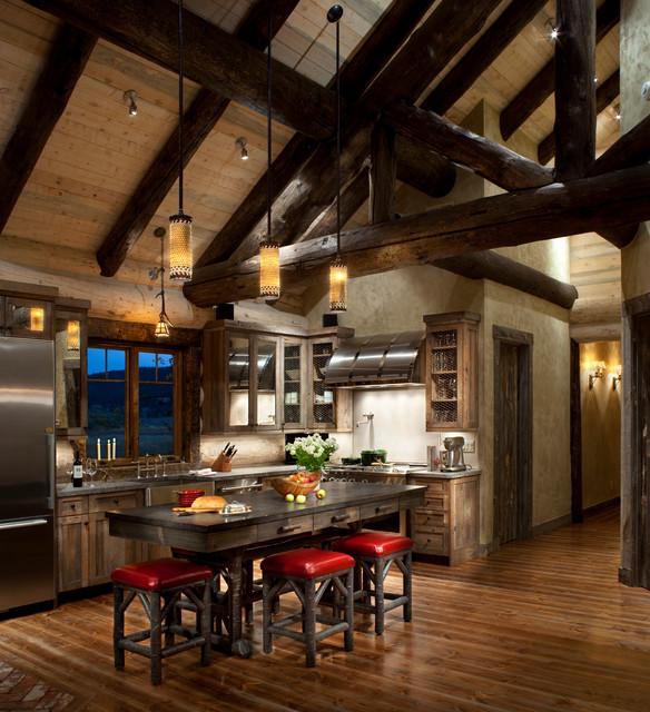Colorado Rustic Kitchen Gallery