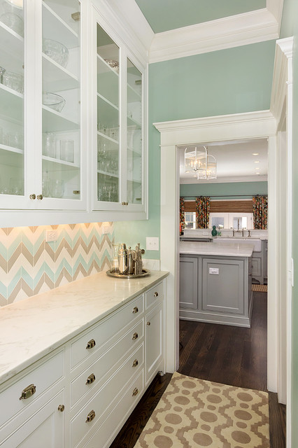 Colorful and Cheery transitional-kitchen