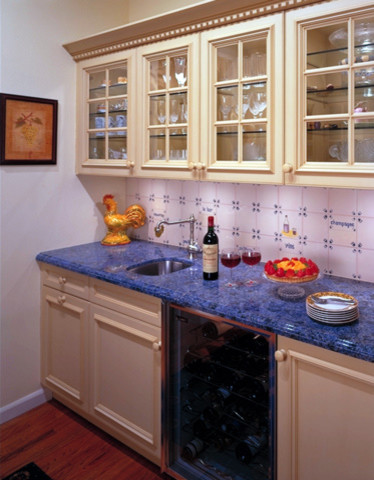 Colorful Country traditional-kitchen
